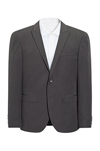 next Uomo Completo: Giacca Vestibilità Skinny Antracite EU 107 Short (UK 42S)