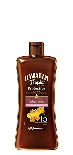 Hawaiian Tropic Protective Dry Oil LSF 15, 100 ml
