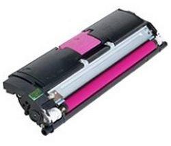 QMS Konica Minolta Magicolor 2400 2430 2500 2450 2400W 2550 2500W Colour Laser Printer Series Standard-Capacity Toner Cartridge - Magenta RED