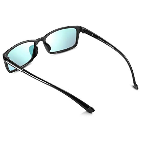 PILESTONE TP-012 farbenblinde gläser Color Blind Korrekturbrille für rote / grüne Farbenblindheit - Mildes, mäßiges und starkes Deutan und mildes, mäßiges Protan