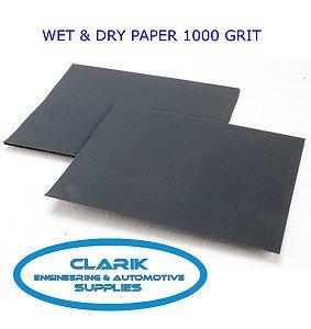 ABRACS WET AND DRY SANDPAPER SHEETS 230MM X 280MM 180G QTY 10