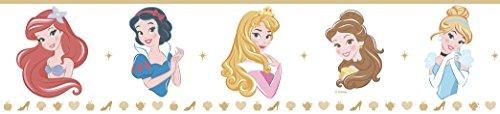 Dandino PR3525-3 Cenefa Infantil Princesas, Mostaza, 25x20x20 cm