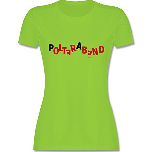 JGA Junggesellinnenabschied Polterabend tailliertes Premium TShirt mit  Rundhalsausschnitt für Damen Hellgrün
