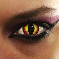 """Lenti A Contatto Colorate Diavolo Rosso """"Red devil Eyes"""""""