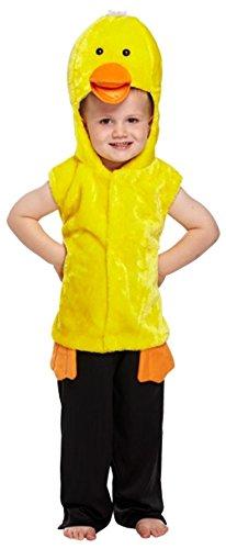 Ente Wappenrock für Kinder Kostüm Age 3 Jahre (Flauschige Ente Kostüm)