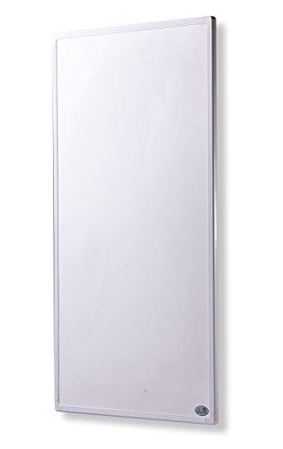 Infrarot Heizung Elektroheizung mit Stecker für Steckdose 130 Watt - 5 Jahre Herstellergarantie- Elektroheizung mit Überhitzungsschutz - mitgeliefert wird ein Zertifikat von deutscher Ingenieurgesellschaft auf Sicherheit - Unsere Geräte sind geprüft auf Sicherheit durch TÜV und/oder deustsche anerkannte Ingenieurgesellschaft- Heizt nach dem Prinzip der Sonne - heizt im optimalen Wellenlängenbereich von 8-15µ - Sonnenheizung - Rahmenfarbe ist weiß (130, weiß)