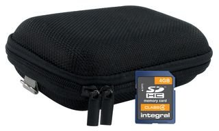 SDHC 4GB CARD WITH CASE BUNDLE INSDH4G4CASE-H By INTEGRAL 4 Gb Sdhc-bundle