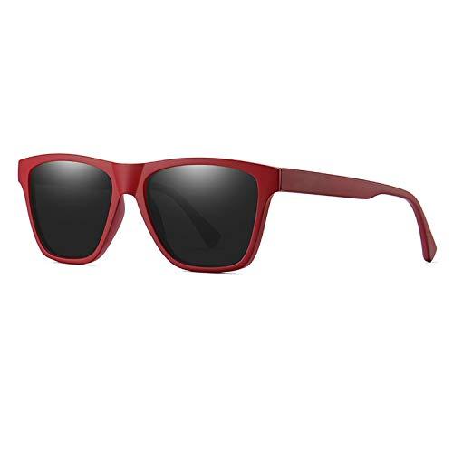 4620651b9e Polarized Men Sunglasses Ultralight Eyewear Frame Square Sun Glasses  Polarization Travel Male Shades,Red Black