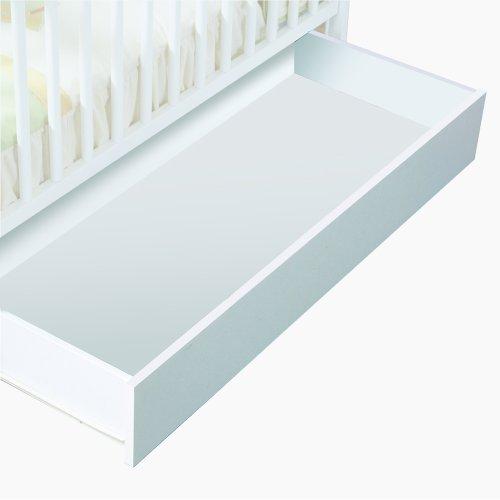 Micuna CP949 - Cajón de cuna, luxe blanco/blanco roto