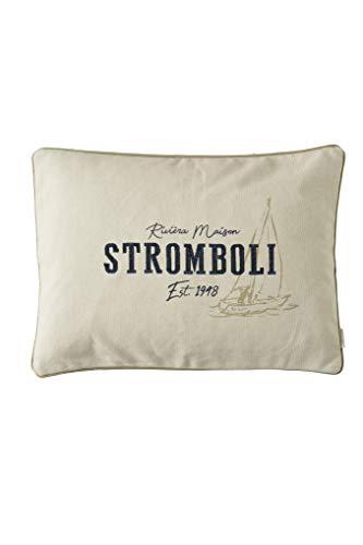 Riviera Maison - Kissenbezug - Stromboli - Baumwolle - 65 x 45 cm (Living Stromboli)