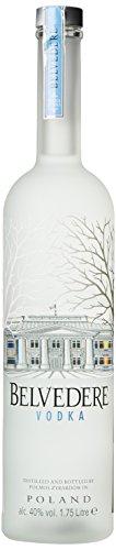 Belvedere Wodka LED-Flaschenboden beleuchtet (1 x 1.75 l) Gute Qualität Led