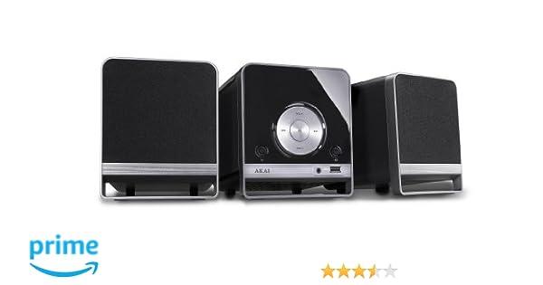 O Daddy Lampen : Akai amc310 mikro system set mit cd spieler und radio: amazon.de