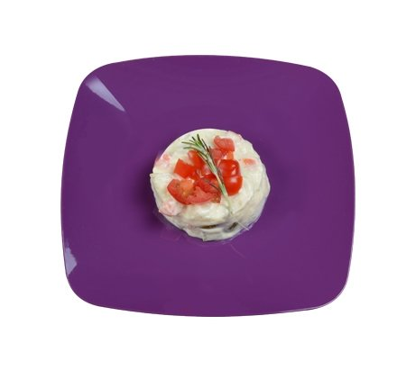 us Hartplastik, 19 cm, Violett/Mauve, 10 Stück ()