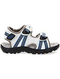 5bcdd22f8de20 Amazon.fr   Blanc - Sandales   Chaussures garçon   Chaussures et Sacs