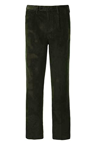 Alexanders of London – Pantalon – À Pinces – Basic – Homme - vert -