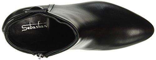 Sebastian - S7149, Stivali bassi con imbottitura leggera Donna Nero (Schwarz (Vitner/Cdf))