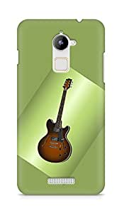 Amez designer printed 3d premium high quality back case cover for Coolpad Note 3 Lite (Guitar)