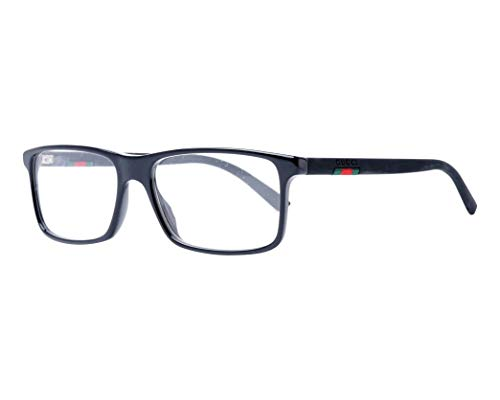 Gucci Brille (GG-0424-O 001) Acetate Kunststoff glänzend schwarz - matt schwarz
