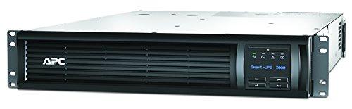 APC Smart-UPS SMT - Unterbrechungsfreie Stromversorgung 3.000VA Rackmodell 2U - SMT3000RMI2U - Line Interactive, AVR, LCD Display, 8 Ausgänge IEC-C13, Shutdown Software -