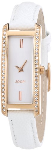 Joop Women's Quartz Watch with Black Dial Analogue Display and Gold Leather JP101272F02 Privilege