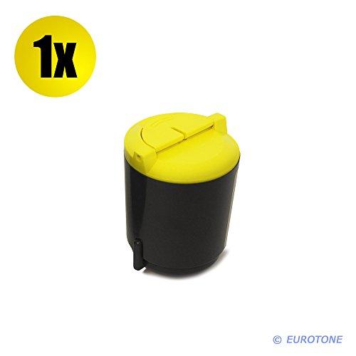 Preisvergleich Produktbild Eurotone Toner für CLP-300 CLX-2160 CLX-3160 FN N ersetzen Samsung gelbe CLP-Y300A Patronen Original EUROTONE ( ISO-Norm 19798 )