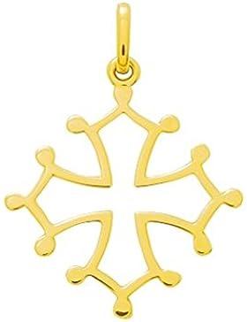 Kreuz OCCITANE-Symbol, 18 Karat, Höhe: 28 mm, Breite: 21 mm-www.diamants-perles.com