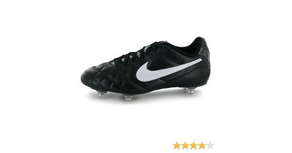 3c7c063f2451 Nike Tiempo Rio SG Mens Football Boots Black Wht Grey 9 UK UK   Amazon.co.uk  Shoes   Bags