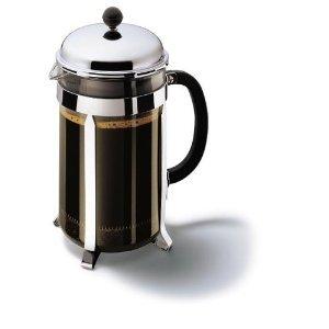 Bodum 1932-16 CHAMBORD Französisch Kaffeezubereiter 12Cup, 1,5 l, Chrome, (Kaffeebereiter)**U.K.IMPORT**
