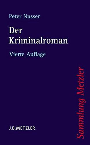 Der Kriminalroman (Sammlung Metzler)