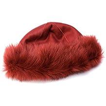 9b43decc01789 Amazon.es  gorro ruso mujer - Rojo