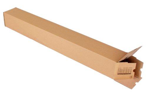progressPACK Universalversandhülse Premium PP LB10.06 aus Wellpappe, DIN A0, 860 x 105 x 105 mm, 10-er Pack, braun