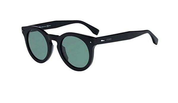 2b847b91ed New Fendi SUN FUN 0214 S 807 QT Black Green Sunglasses  Amazon.co.uk   Clothing