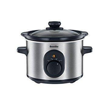 Breville VTP169 Compact Slow Cooker, 1.5 Litre