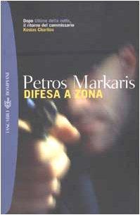 Difesa a zona (Tascabili. Best Seller) por Petros Markaris
