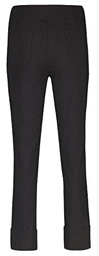 Bella von Robell Slim Fit 7/8 Schlupfhose Stretchhose Damen Hosen #Bella 09versch.Farben Schwarz(90)