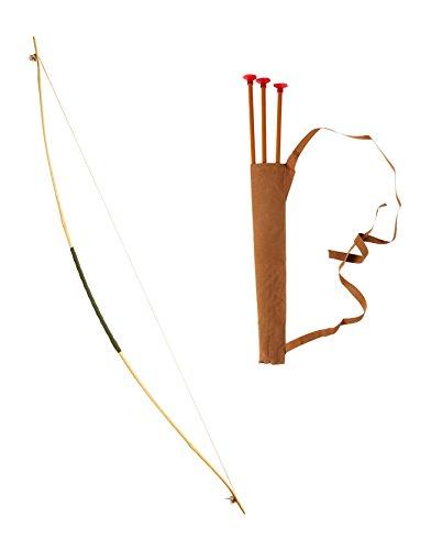 Bogen Kostüm - Widmann 1743 - Set für Bogenschützen 100 cm, Tarnung, Einheitsgröße