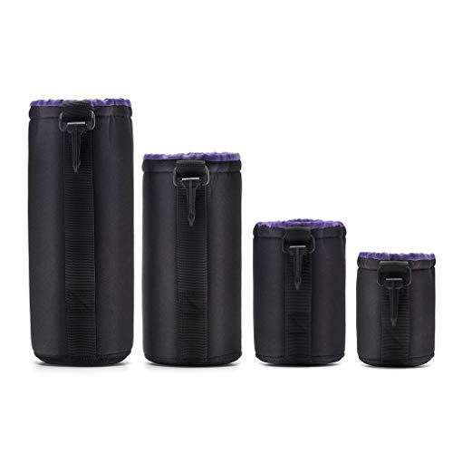 Preisvergleich Produktbild 4pcs / pack DSLR SLR Kameraobjektiv-Schutztasche Wasserdichter Neopren-Etui