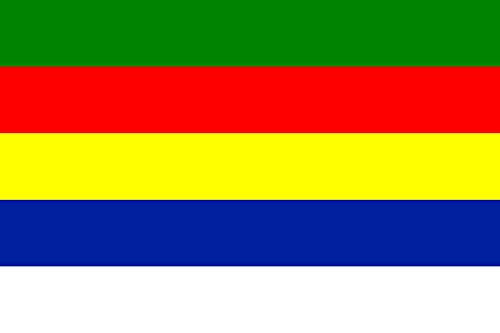 Ad-flag (magFlags Flagge: Large Civil flag of Jabal ad-Druze 1921-1936 | Civil flag of the State of Souaida and Jabal ad-Druze between 1921 - 1936 | Querformat Fahne | 1.35m² | 90x150cm » Fahne)