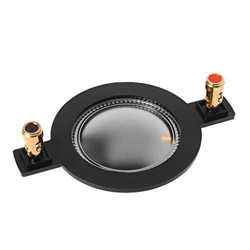 SimpleLife 44mm Audio Lautsprecher Titanium Film/High-Tone Membran Hoch Voice Coil Ersatz Membran/Treble Voice Coil Reel Hochtöner Zubehör Diagonale Audio