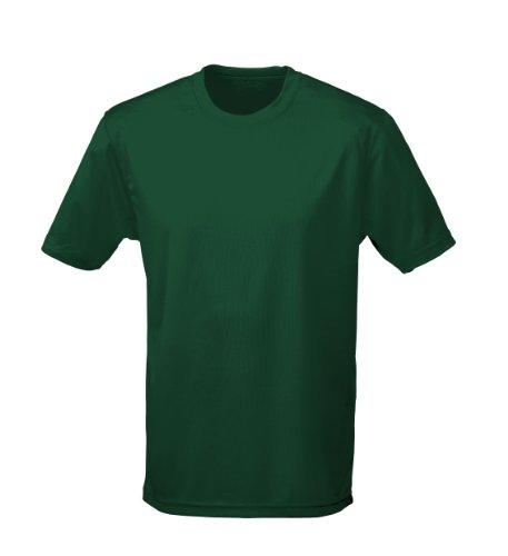 Just Cool - Performance T-Shirt, atmungsaktiv Flaschengrün