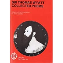 Collected Poems by Thomas Wyatt (1975-12-11)
