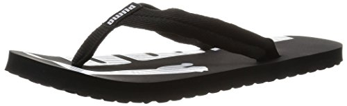 Puma Epic Flip V2, Chanclas Unisex Adulto, Negro (Black-White 03), 42 EU
