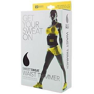 Sweat Sweat Schlankheits Gürtel, Verstellbarer Taillen Trimmer Gürtel, Schwarz