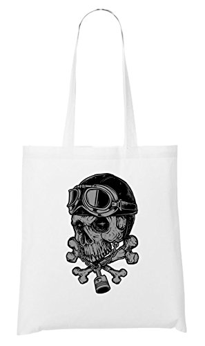 Certified Freak Rider Skull Sac Blanc