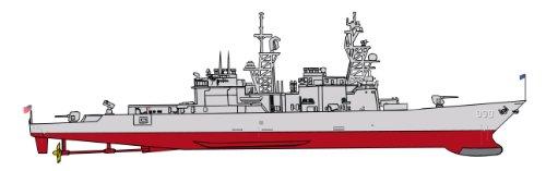 Dragon 500727114 - 1:700 SS Ingersoll DD 990 vs Delta III, Schiff