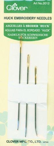 Von Huck-Stickerei needles-assorted 3/Pkg -