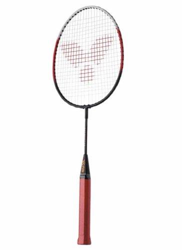 VICTOR Kinder Badminton-Schläger Youngstar, Silber/Gelb/Rot, 55 cm, 751/0/0