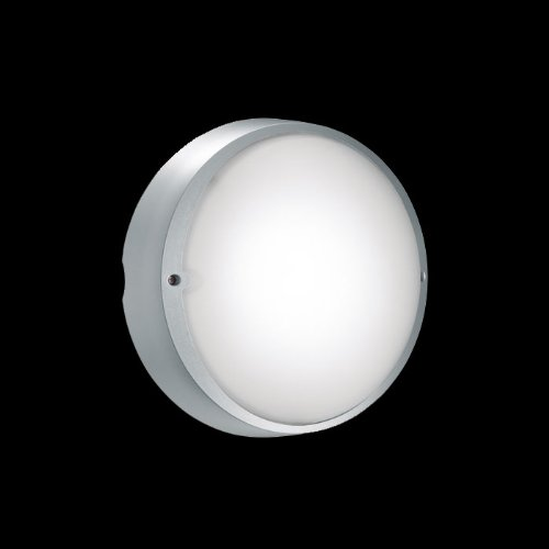 AIRY TONDA-E27 1X100W CL.II-GRIGIOH.T.-VETRO LB822