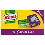 Knorr Lamb Stock Cube, 80g (Pack of 8)