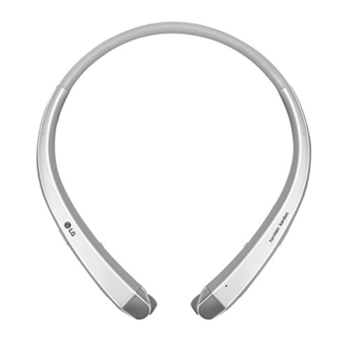 Lg electronics hbs 910 tone infinim blautooth-headset inear cuffie argento